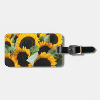 Washington, Seattle, Sunflower for sale pike Tag For Luggage