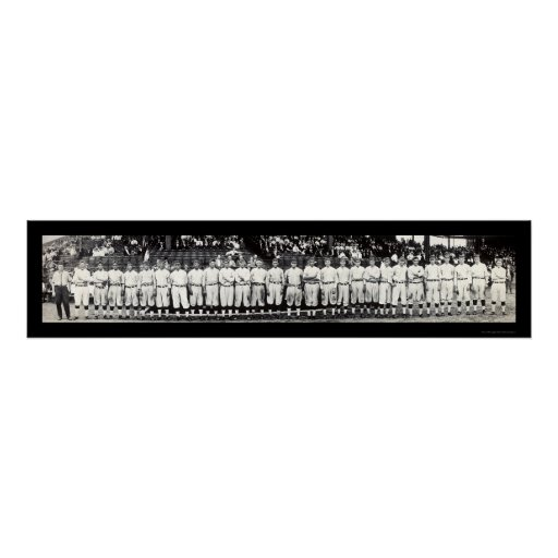 Washington Senators Photo 1913 Poster