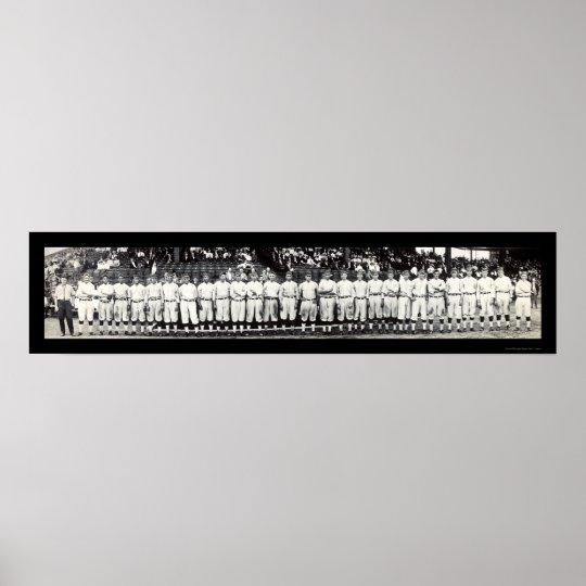 Washington Senators Photo 1913 Poster
