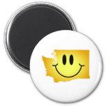 Washington Smiley Face Fridge Magnets