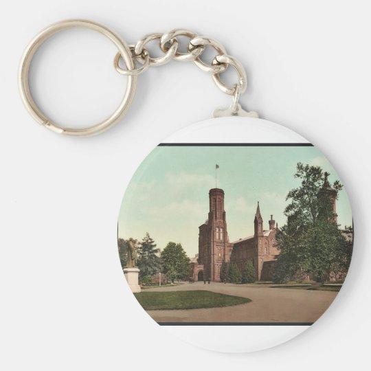 Washington. Smithsonian Institution classic Photoc Keychain