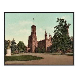 Washington. Smithsonian Institution classic Photoc Postcard