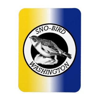 Washington Sno-Bird Magnet