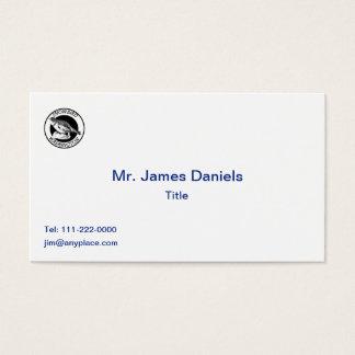 Washington Snowbird  Shield Business Card