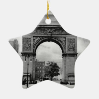 Washington Square Arch Ceramic Ornament