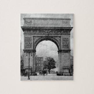Washington Square Arch Jigsaw Puzzle
