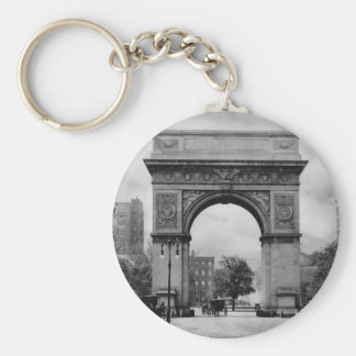 Washington Square Arch Keychain
