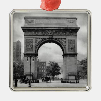 Washington Square Arch Metal Ornament