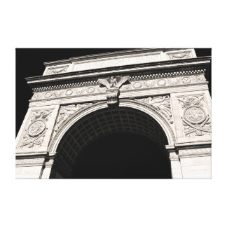 Washington Square Park Arch, NYC Stretched Canvas Prints