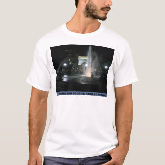 Washington Square Park at Night, NYC T-Shirt