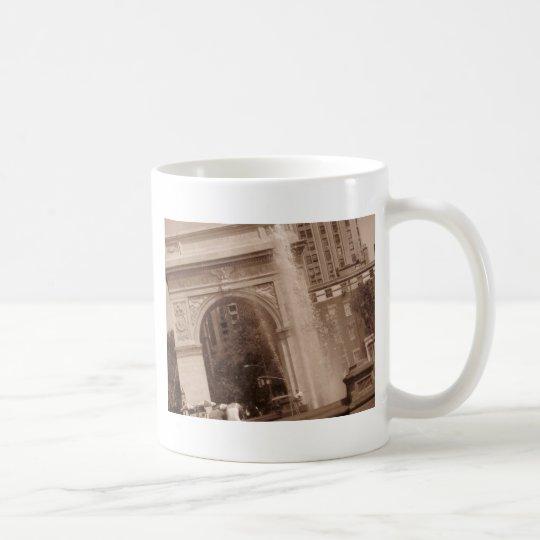 washington square park coffee mug