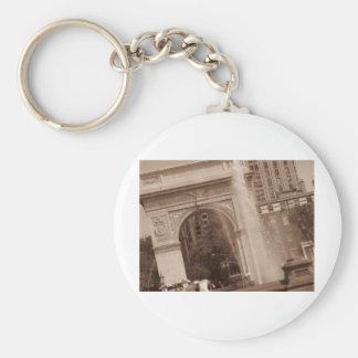 washington square park keychain