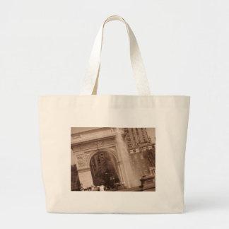 washington square park large tote bag