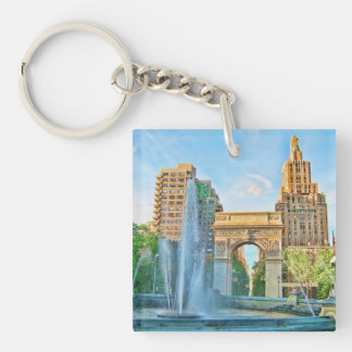 Washington Square Park, NYC Keychain