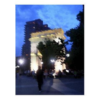 Washington Square Park Postcard