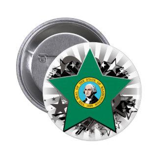 Washington Star Pinback Button