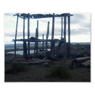 washington state beach photo print