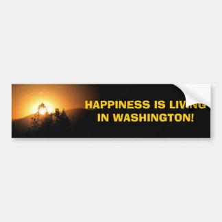 Washington State! Bumper Sticker