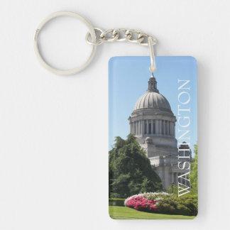 Washington State Capitol Photo Keychain
