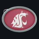 "Washington State Cougar Belt Buckle<br><div class=""desc"">Check out these official Washington State Cougar products! All of these products are customizable with your name, club, sport, or class year on Zazzle.com. Show off your Cougar pride by getting your WSU gear here. These products make perfect gifts for the Washington State student, alumni, family, friend, or fan in...</div>"