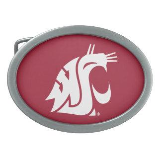 Washington State Cougar Belt Buckle