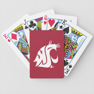 Washington State Cougar Bicycle Playing Cards
