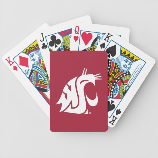 Washington State Cougar Bicycle Playing Cards