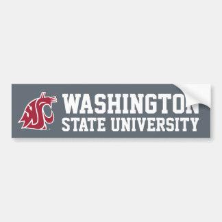Washington State Cougar Bumper Sticker