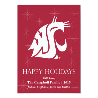 Washington State Cougar Card