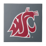 "Washington State Cougar Ceramic Tile<br><div class=""desc"">Check out these official Washington State Cougar products! All of these products are customizable with your name, club, sport, or class year on Zazzle.com. Show off your Cougar pride by getting your WSU gear here. These products make perfect gifts for the Washington State student, alumni, family, friend, or fan in...</div>"