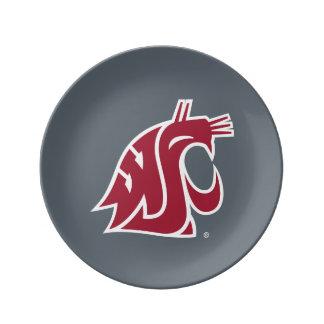 Washington State Cougar Dinner Plate