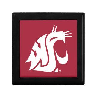 Washington State Cougar Jewelry Box