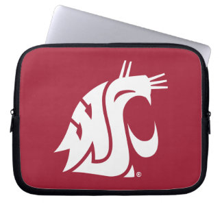 Washington State Cougar Laptop Sleeve