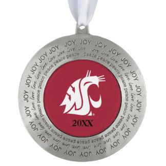 Washington State Cougar Ornament