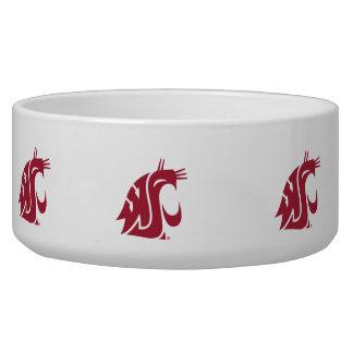 Washington State Cougar Pet Food Bowls