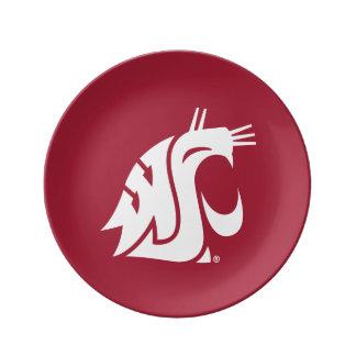 Washington State Cougar Plate