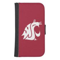 Washington State Cougar Samsung S4 Wallet Case