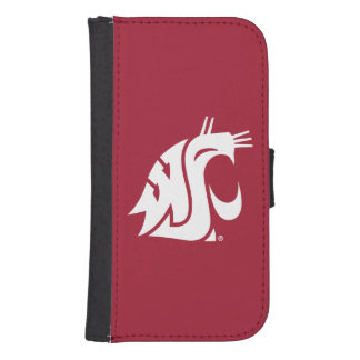 Washington State Cougar Samsung S4 Wallet Case