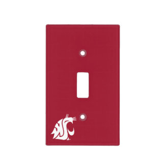 Washington State Cougar Switch Plate Cover