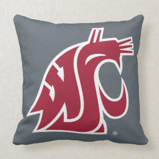 Washington State Cougar Throw Pillows