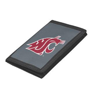 Washington State Cougar Tri-fold Wallet