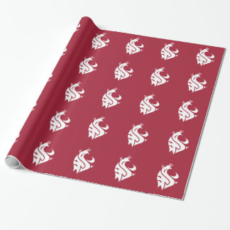 Washington State Cougar Wrapping Paper