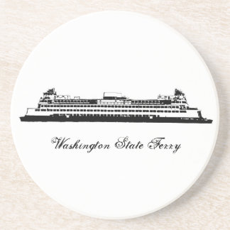 Washington State Ferry Beverage Coaster