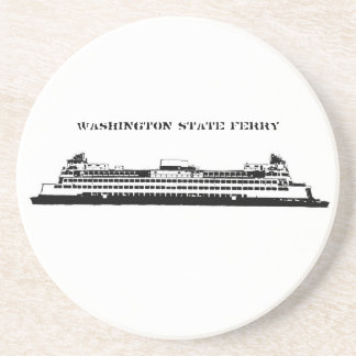 Washington State Ferry Drink Coasters