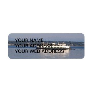 Washington State Ferry Label