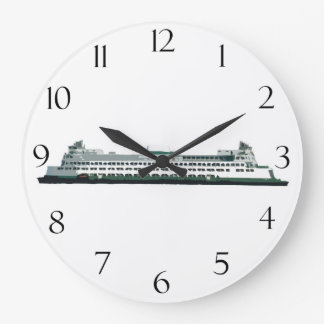 Washington State Ferry Large Clock