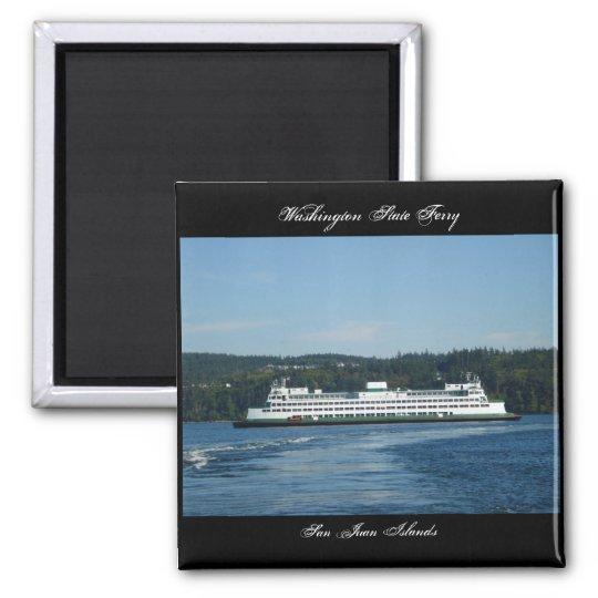 Washington State Ferry, San Juan Islands Magnet