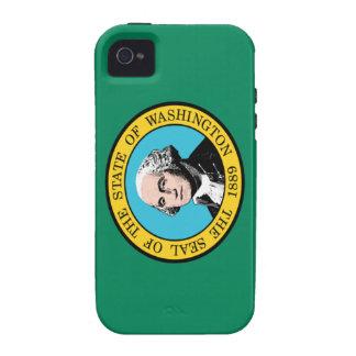 Washington state flag iPhone 4/4S case