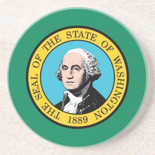 Washington State Flag Coasters