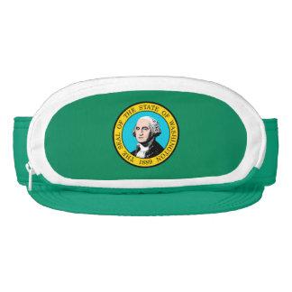 Washington State Flag Design Visor